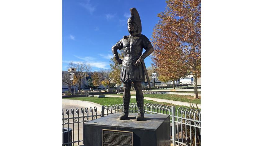 Make Your School Mascot into a Bronze Statue