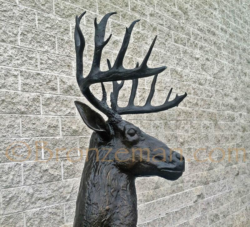 bronze deer family