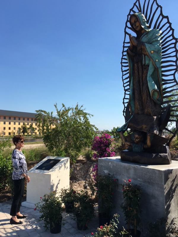 custom bronze religious statue