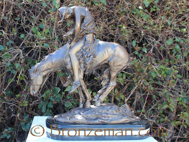 bronze indian