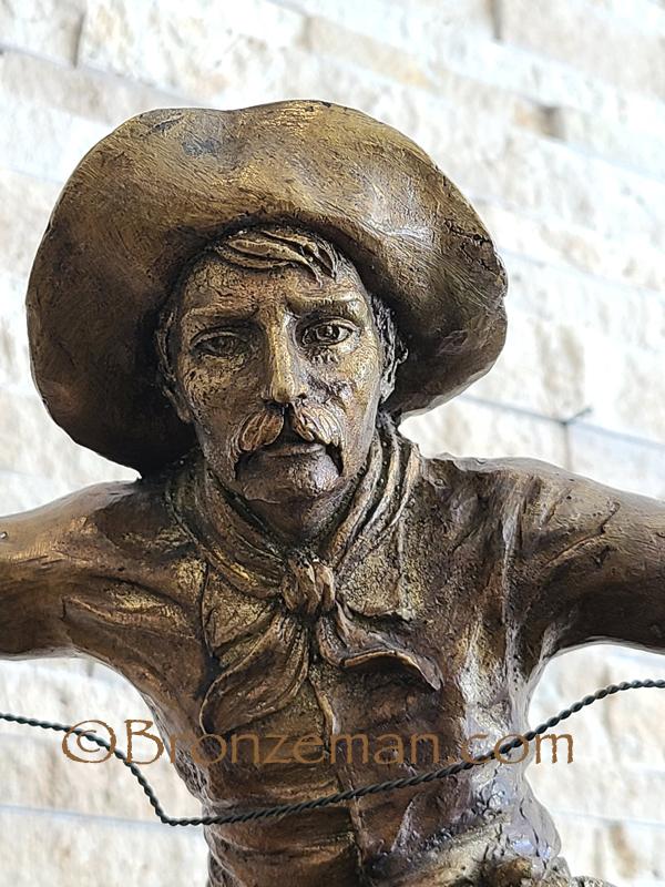 bronze remington bronco buster