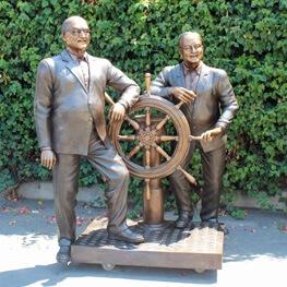 custom bronze statue category